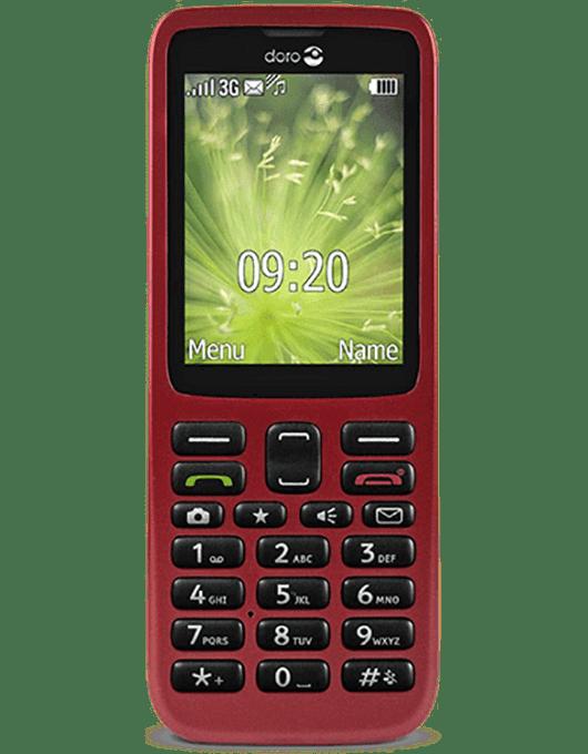 Doro 5517 Röd