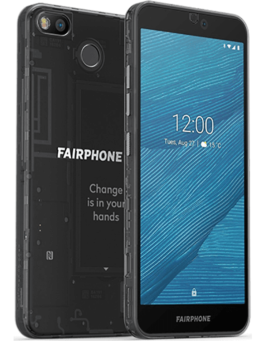 Fairphone 3 Svart