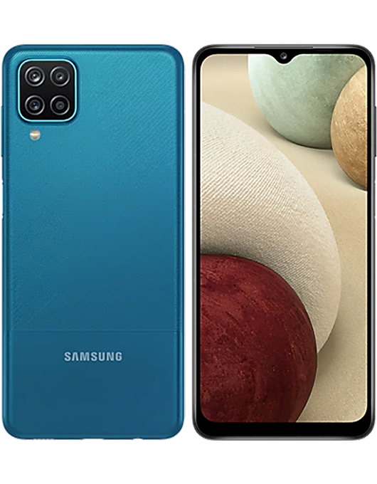 Samsung Galaxy A12 Blå