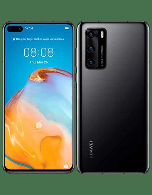 Huawei P40 Svart