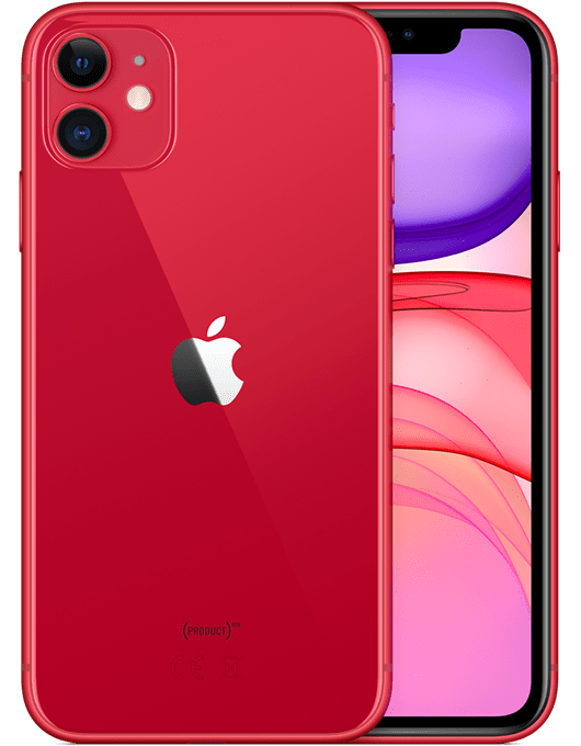 Apple iPhone 11 Röd