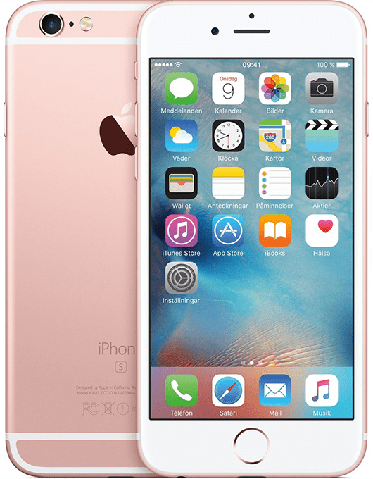 Apple iPhone 6S Rosa guld