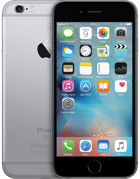 Apple iPhone 6S Rymdgrå