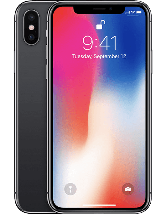 Apple iPhone X Rymdgrå