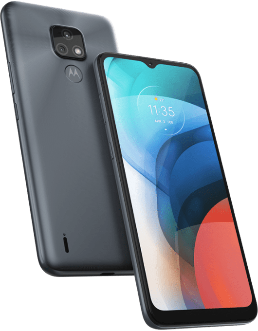 Motorola Moto E7 Grå