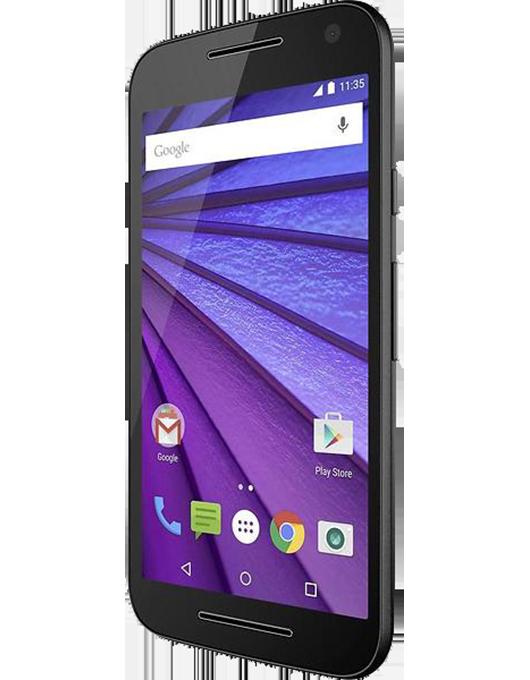 Motorola Moto G3 Svart