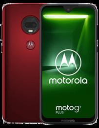 Motorola Moto G7 Plus Röd