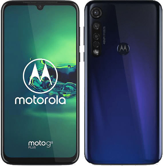 Motorola Moto G8 Plus Blå