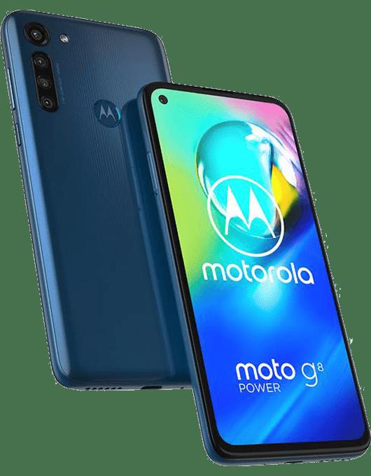 Motorola Moto G8 Power Blå