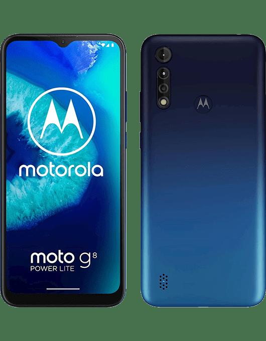 Motorola Moto G8 Power Lite Kungligt Blå