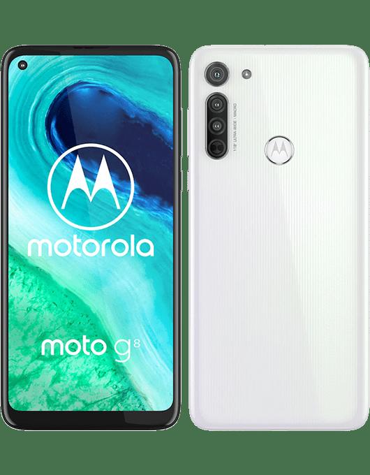 Motorola Moto G8 Pärlvit