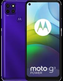 Motorola Moto G9 Power Lila