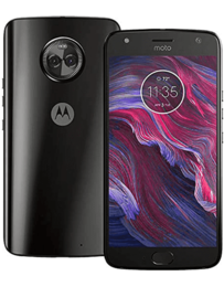 Motorola Moto X4 Svart