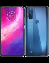 Motorola One Hyper Blå