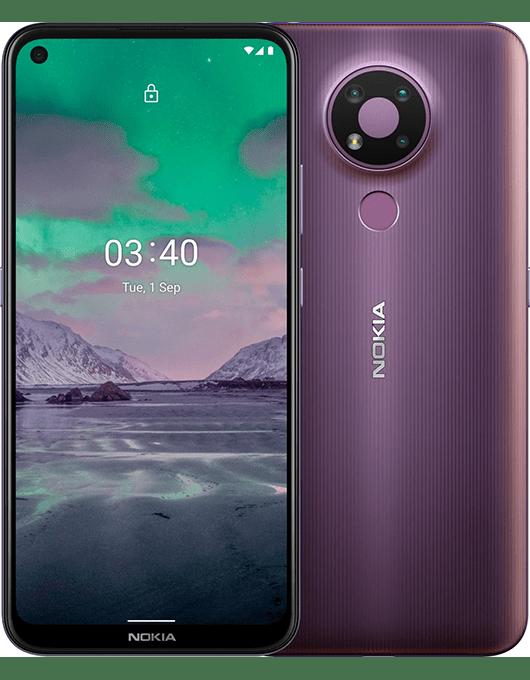 Nokia 3.4 Lila