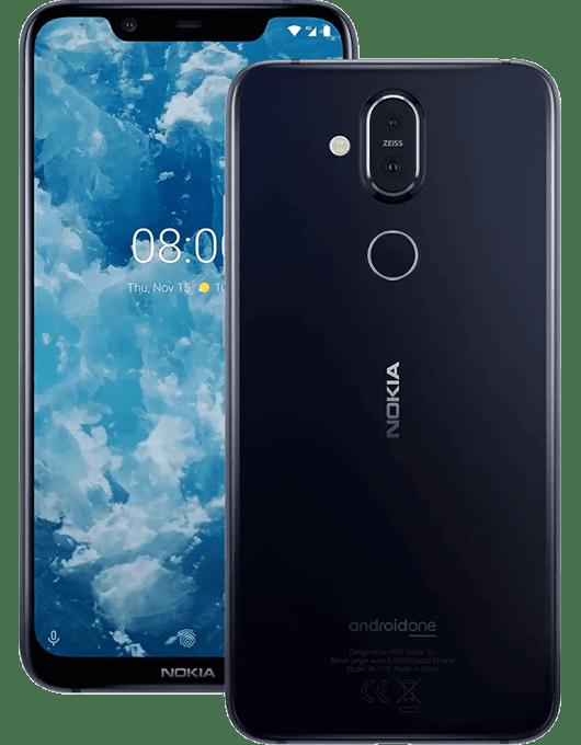 Nokia 8.1 Blå