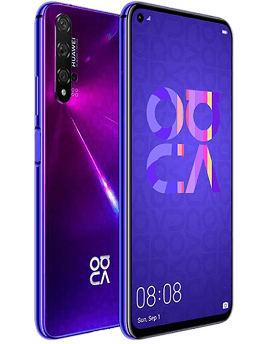 Huawei Nova 5T Lila