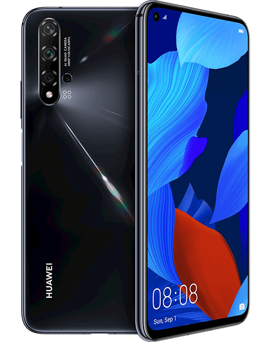 Huawei Nova 5T Svart