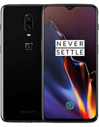OnePlus 6 Midnattssvart