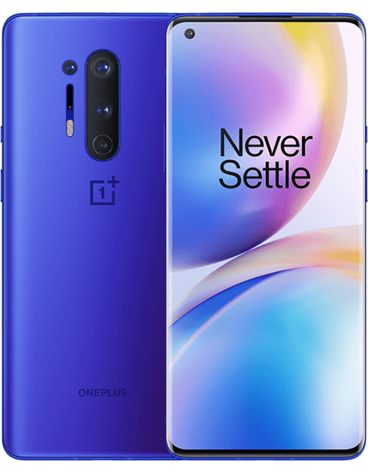 OnePlus 8 Pro Blå