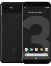 Google Pixel 3 Svart