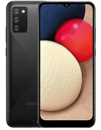 Samsung Galaxy A02s Svart