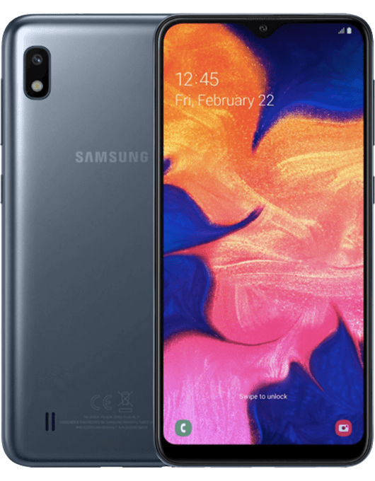 Samsung Galaxy A10 Svart