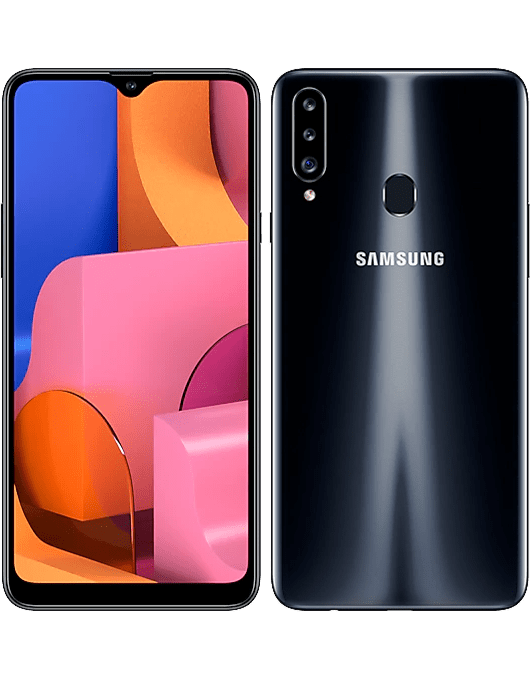 Samsung Galaxy A20s Svart