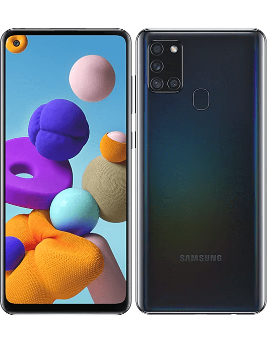 Samsung Galaxy A21s Svart