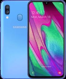 Samsung Galaxy A40 Blå