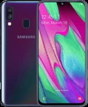 Samsung Galaxy A40 Svart