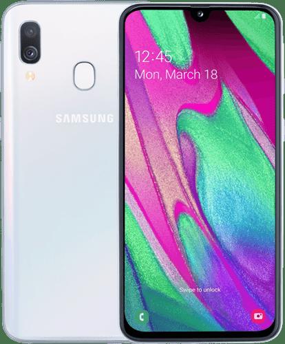 Samsung Galaxy A40 Vit