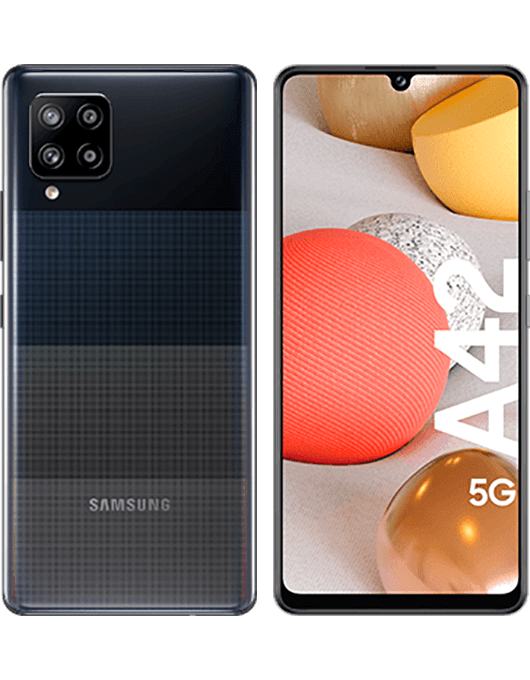 Samsung Galaxy A42 Svart