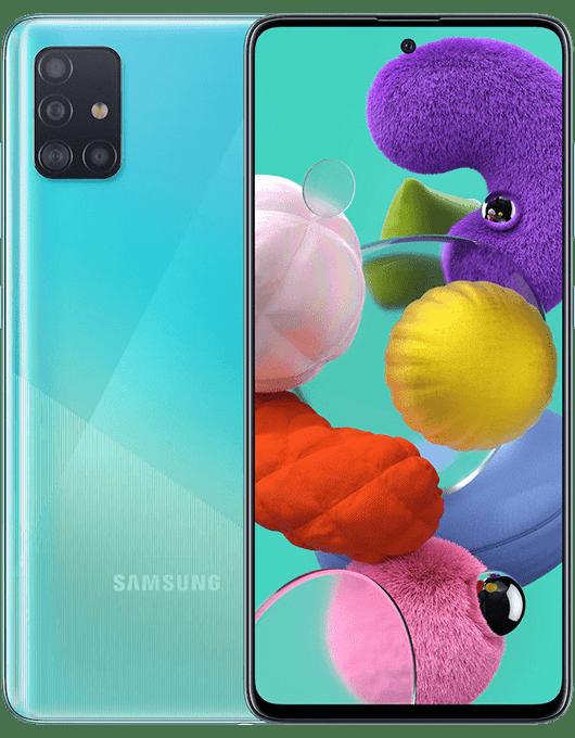 Samsung Galaxy A51 Blå