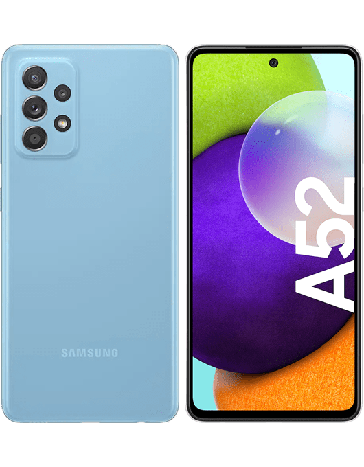 Samsung Galaxy A52 Blå