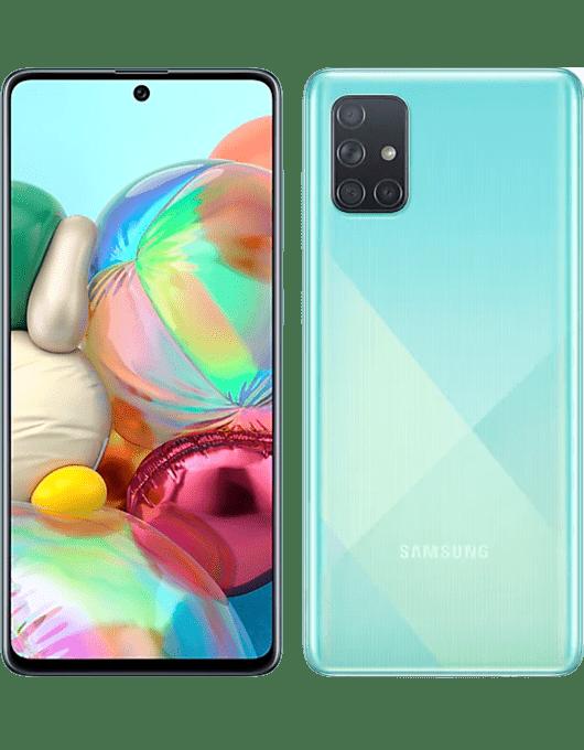 Samsung Galaxy A71 Blå
