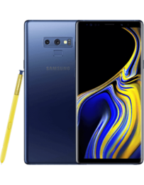 Samsung Galaxy Note 9 Blå