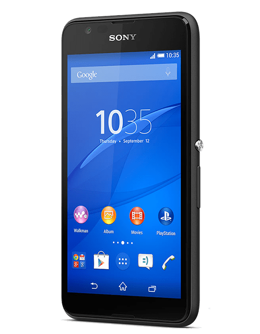 Sony Xperia E4G Svart