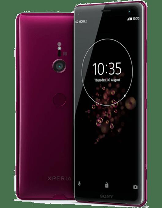 Sony Xperia XZ3 Vinröd