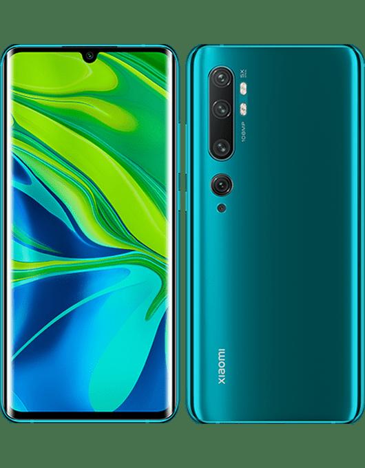 Xiaomi Mi Note 10 Aurora grön