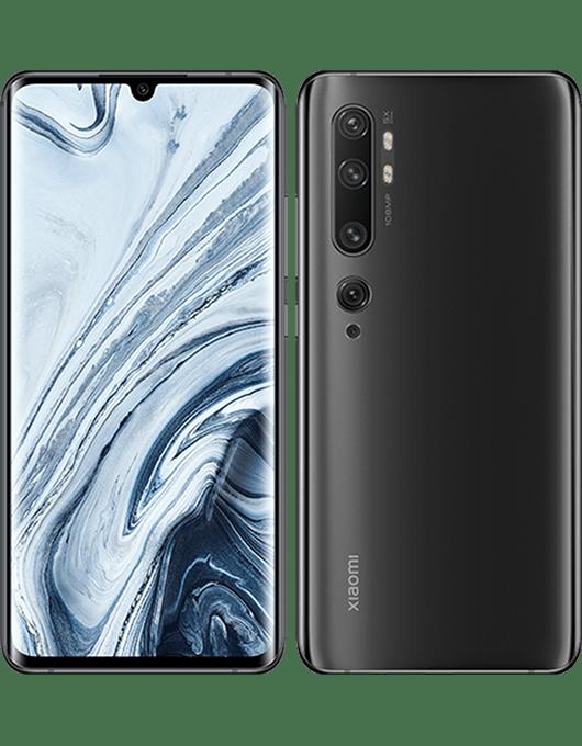 Xiaomi Mi Note 10 Midnattssvart