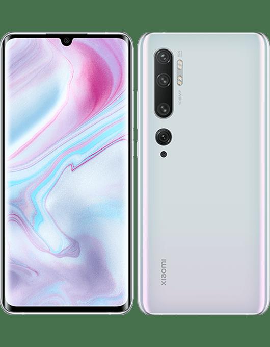 Xiaomi Mi Note 10 Glaciärvit
