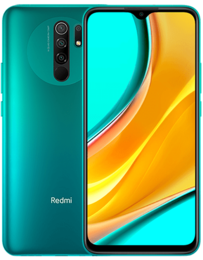 Xiaomi Redmi 9 Grön